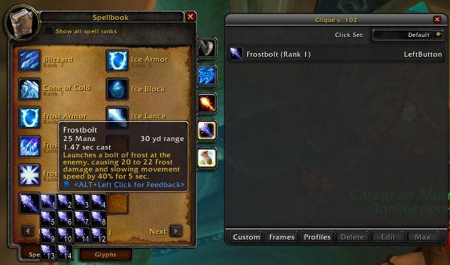 Condensed SpellBook 2 (WotLK) : Discontinued and Outdated Mods