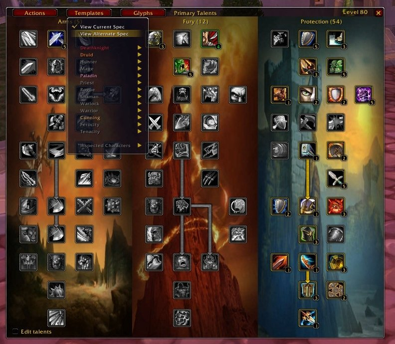 Talented : Discontinued and Outdated Mods : World of Warcraft AddOns