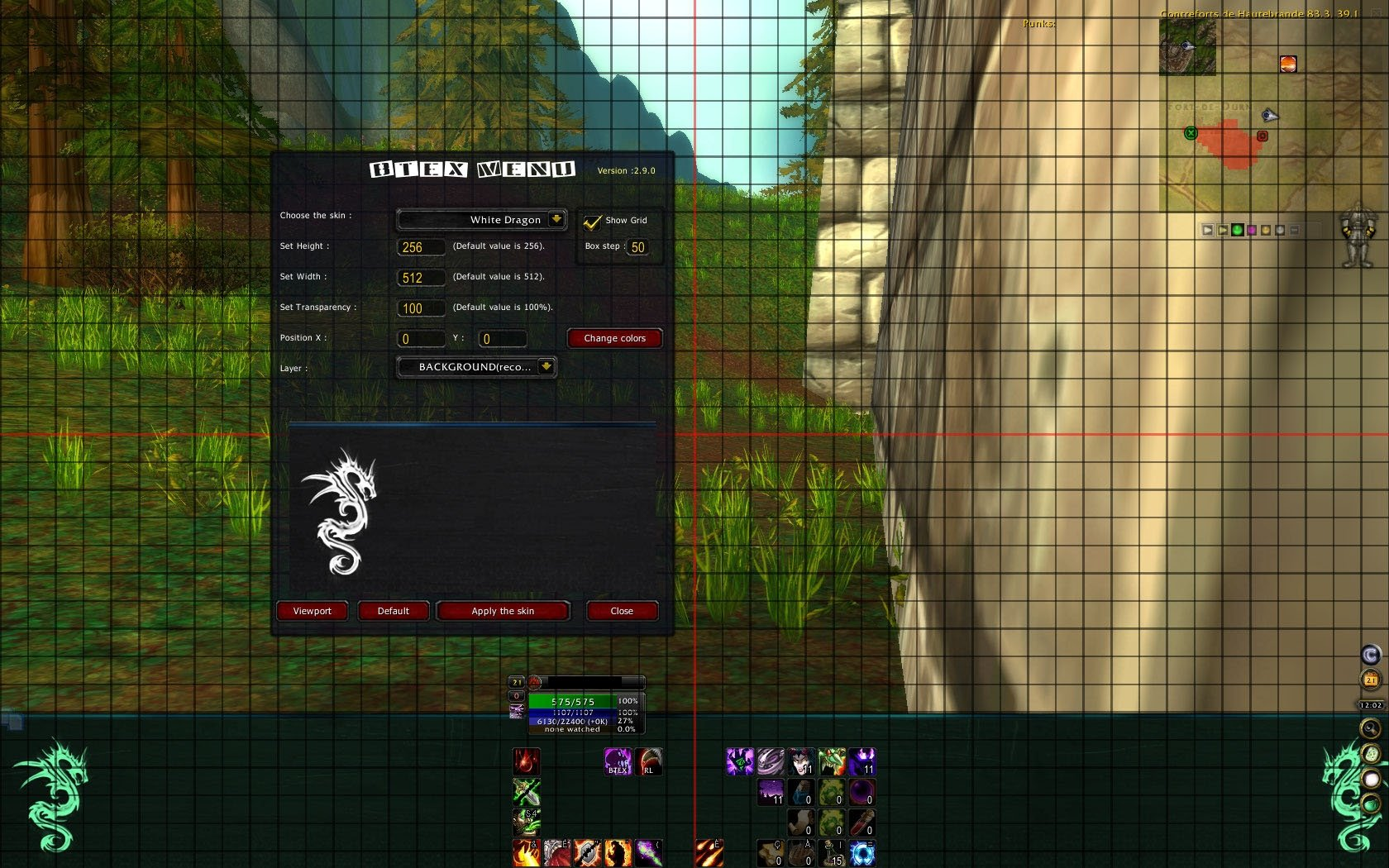 BTex : Graphic UI Mods : World of Warcraft AddOns