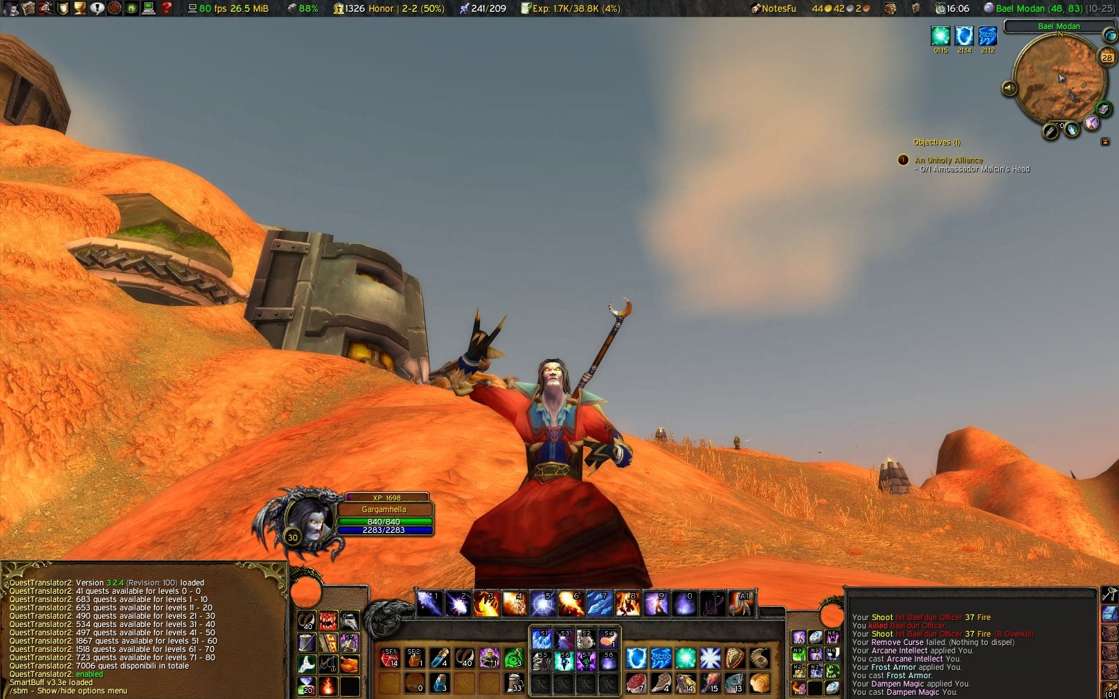 UI Media : World of Warcraft AddOns