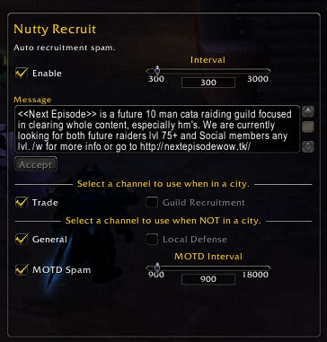 pvw46306 nutty recruit group, guild & friends world of warcraft addons,Wow Macro Guild Invite