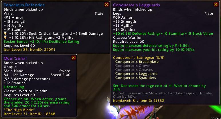 Warcraft armor penetration
