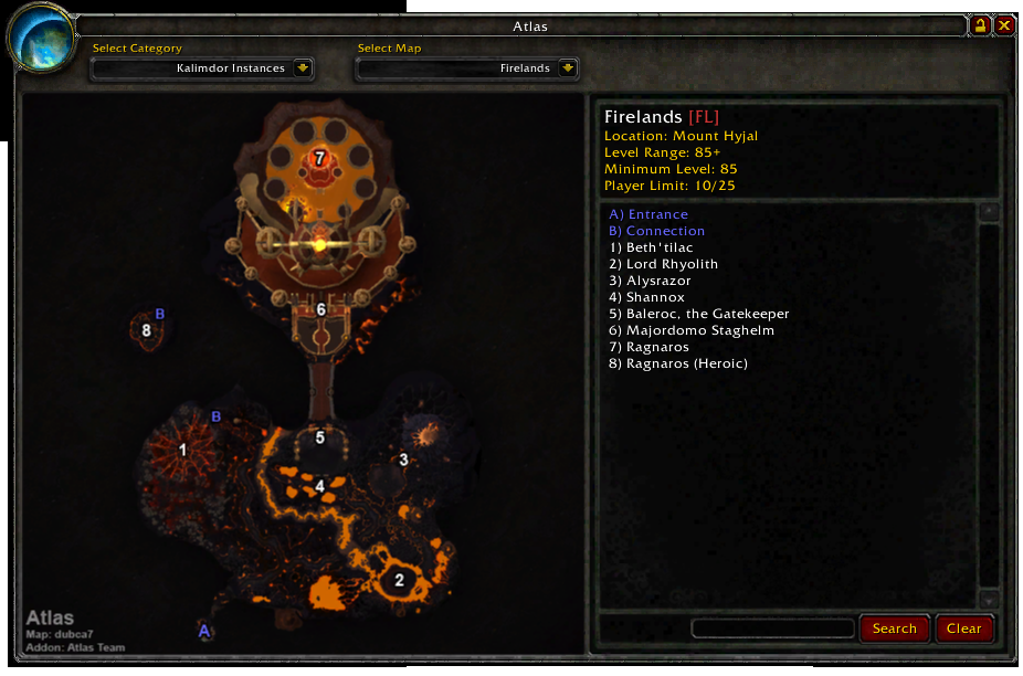 Atlas Map Coords Compasses World Of Warcraft Addons
