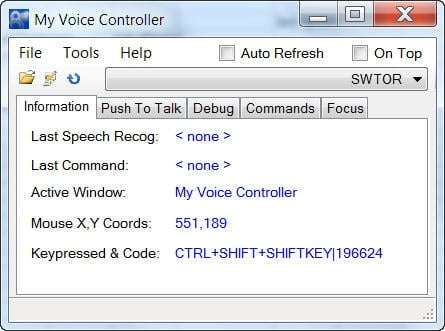 My Voice Controller : WoW Tools & Utilities : World of