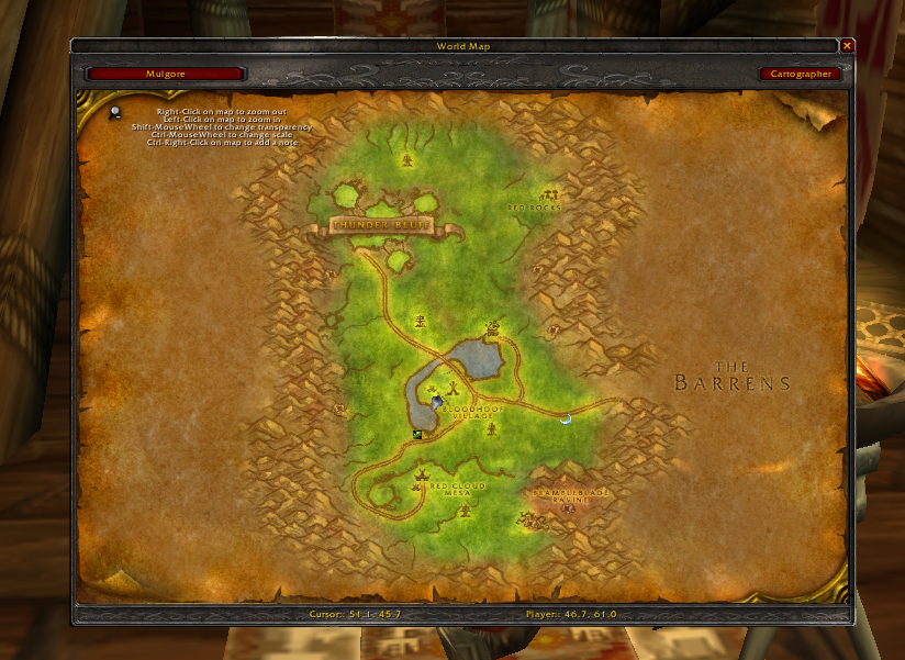 wow cartographe 1.9