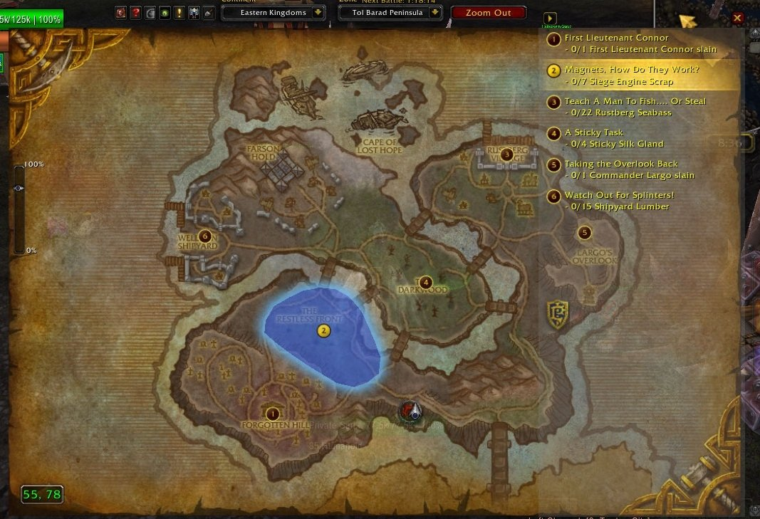 Map coords compasses world of warcraft addons click to enlarge gumiabroncs Images