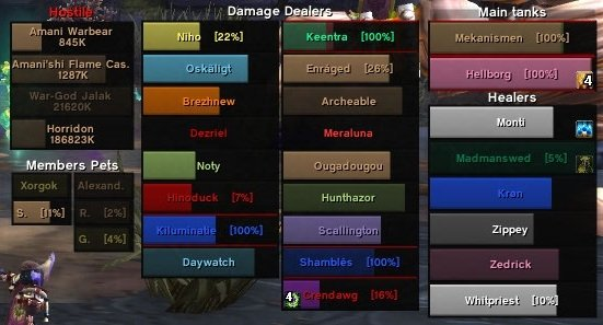 HealBot Continued : Unit Mods : World of Warcraft AddOns