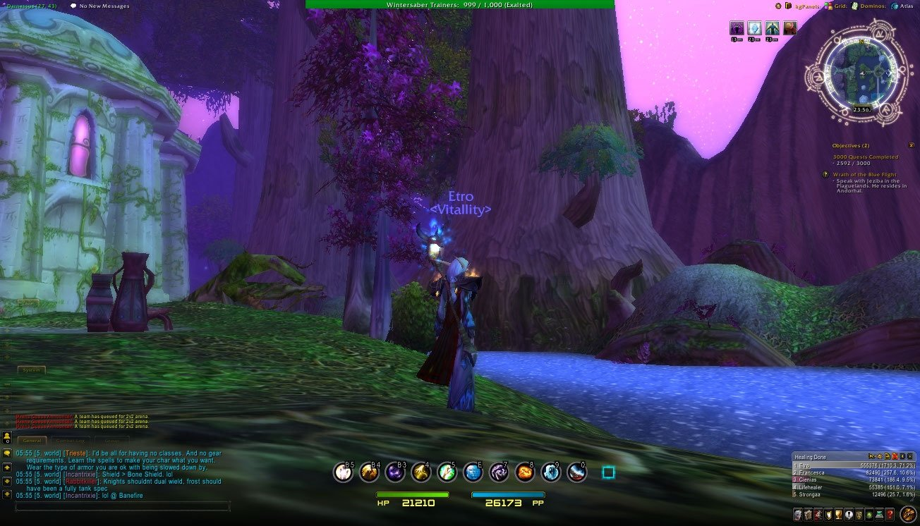 Empyrean UI : Class Compilations : World of Warcraft AddOns