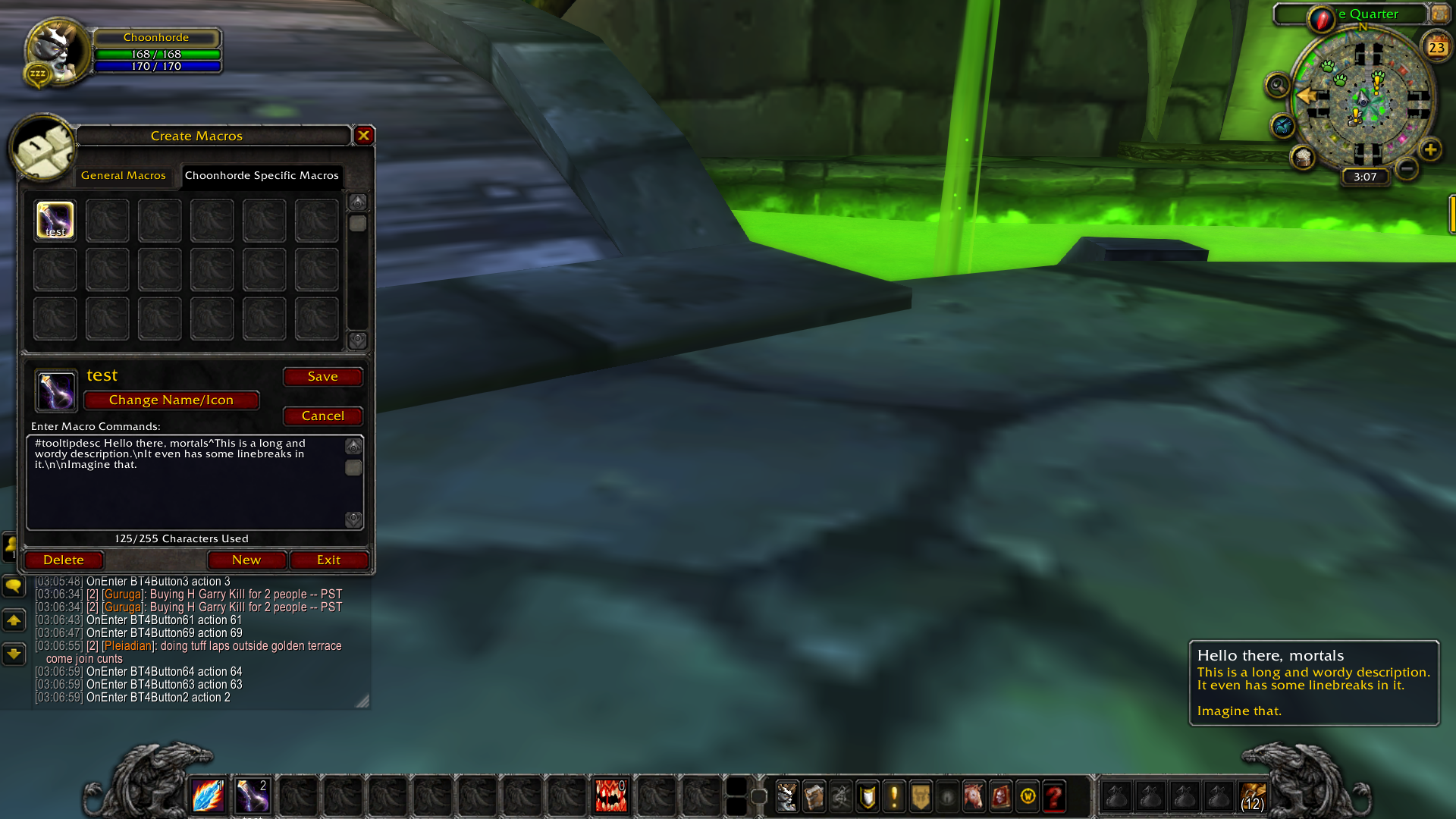 Custom Tooltips : Action Bar Mods : World of Warcraft AddOns