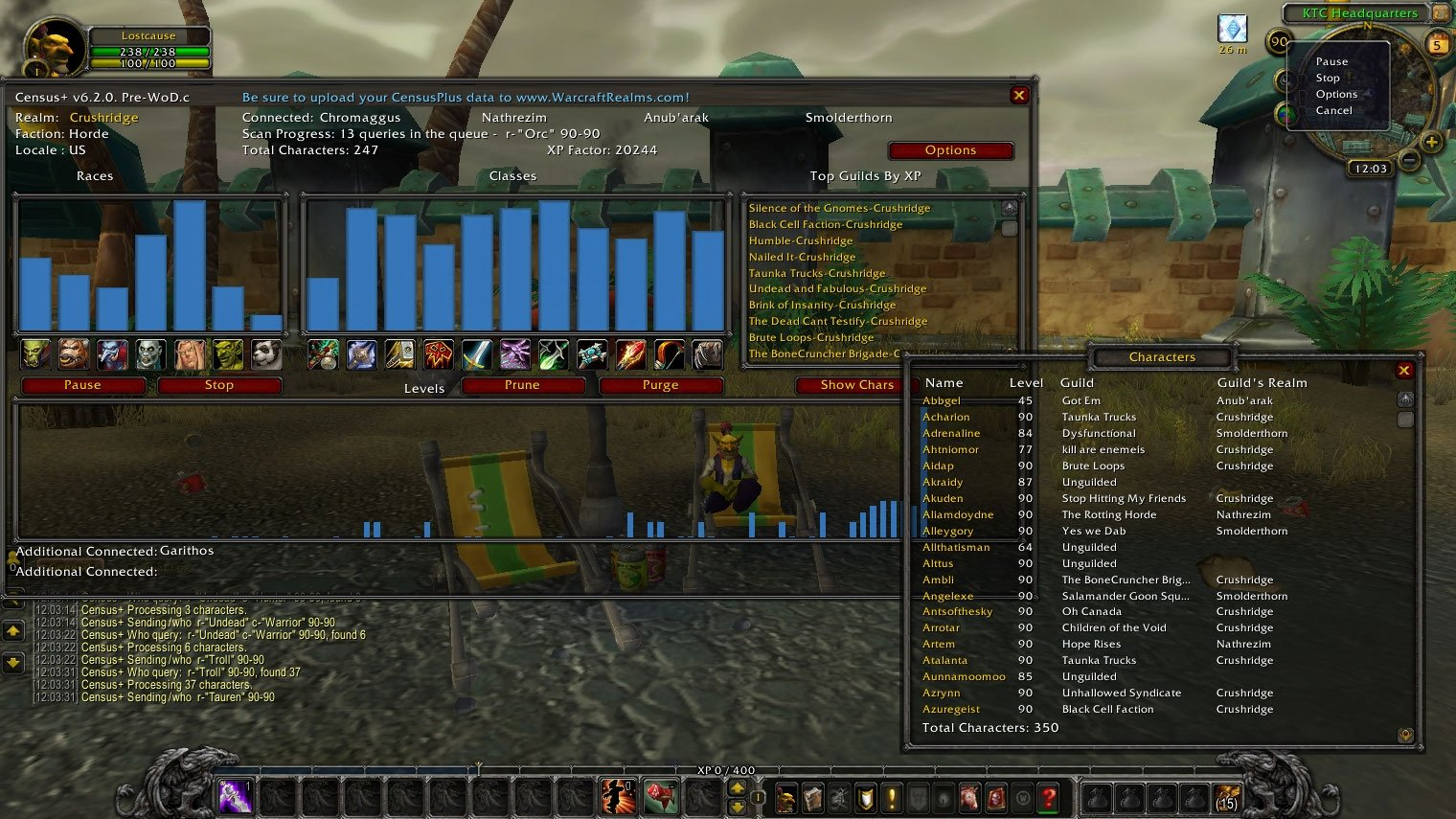 CensusPlus : Data Mods : World of Warcraft AddOns