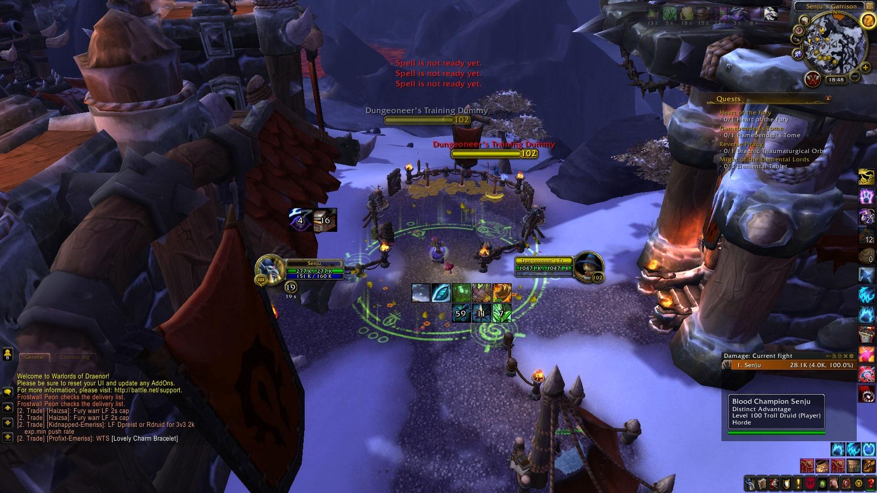 Tvattnisse's Druid UI : Healer Compilations : World of