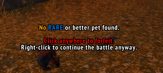 Cancel Pet Fight : Mounts & Pets : World of Warcraft AddOns