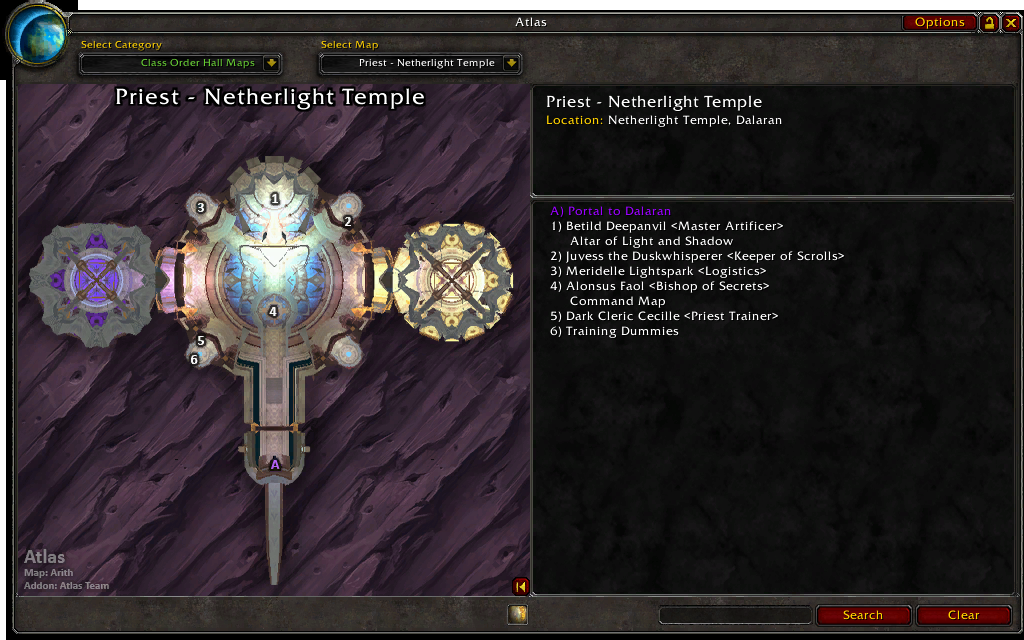 An Early Look At World Of Warcraft: Legion's Class Halls ... |Class Order Halls Map