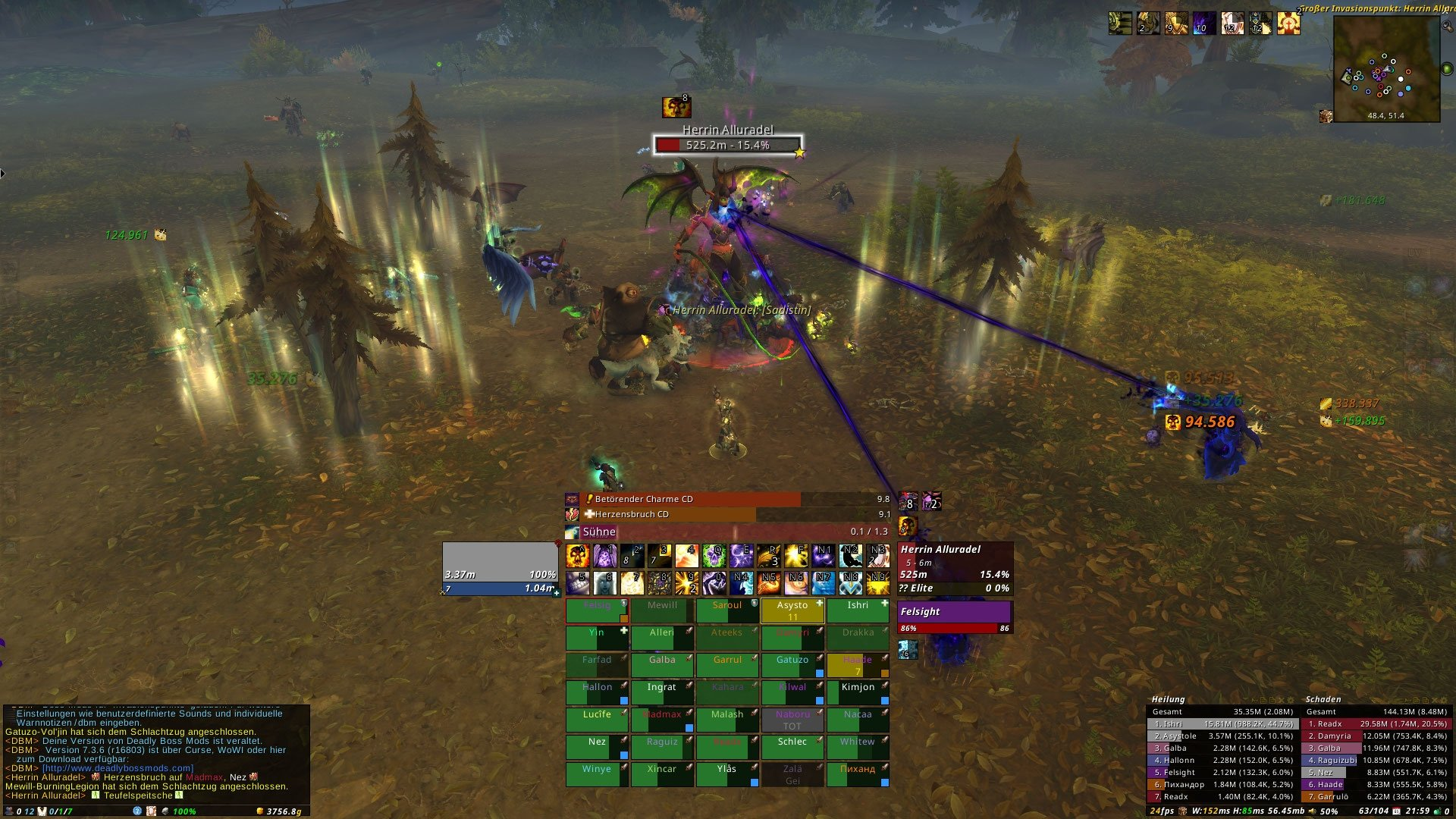 XanUI : Tank Compilations : World of Warcraft AddOns
