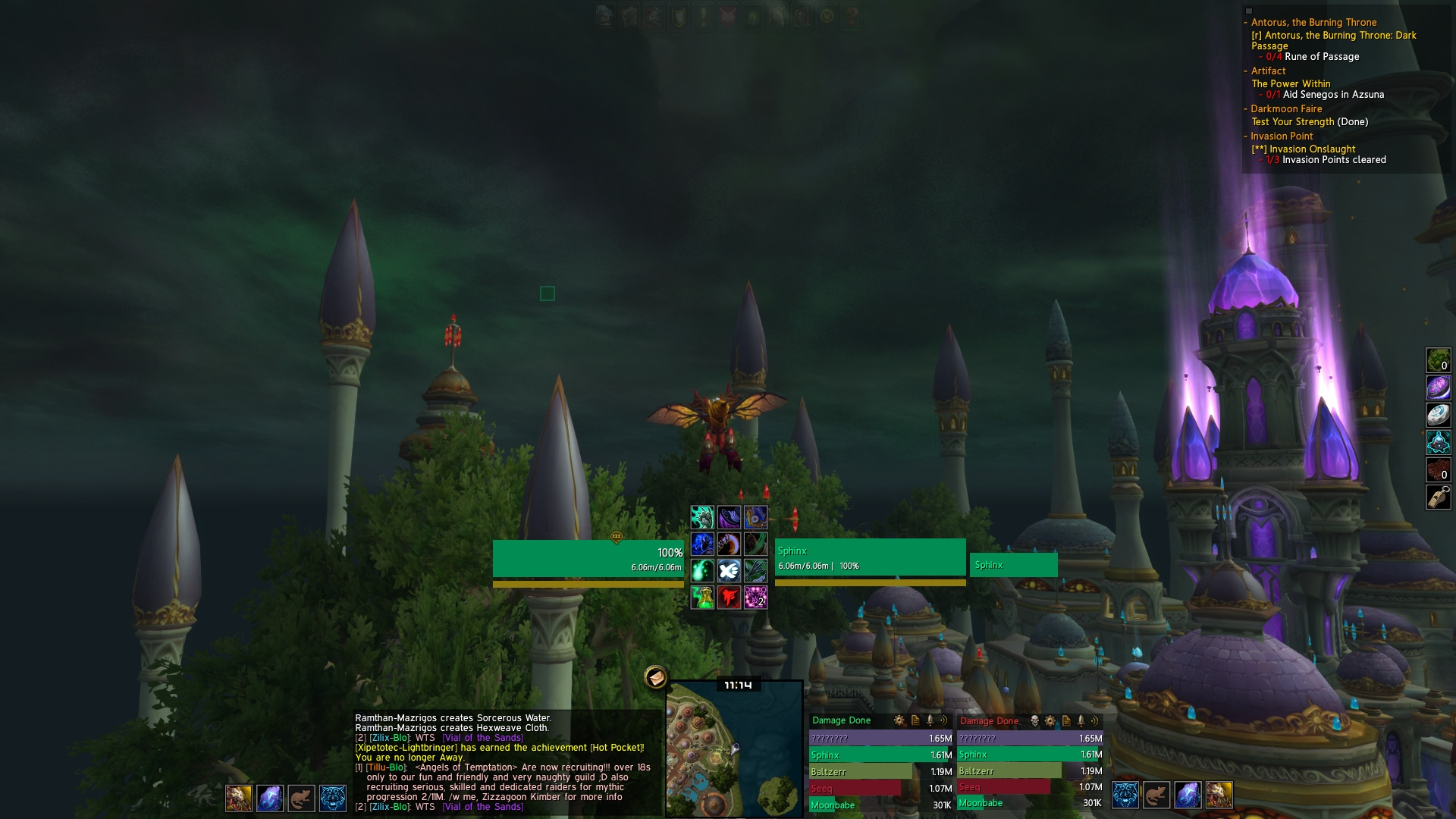 Material UI : Graphical Compilations : World of Warcraft AddOns