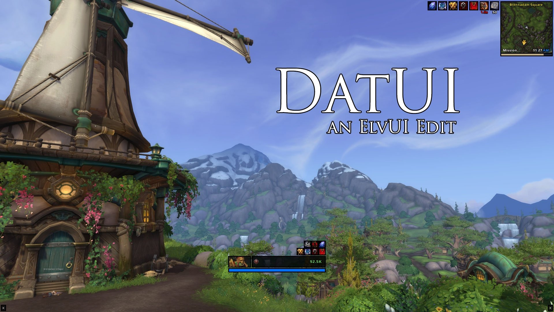 DatUI : Minimalistic Compilations : World of Warcraft AddOns