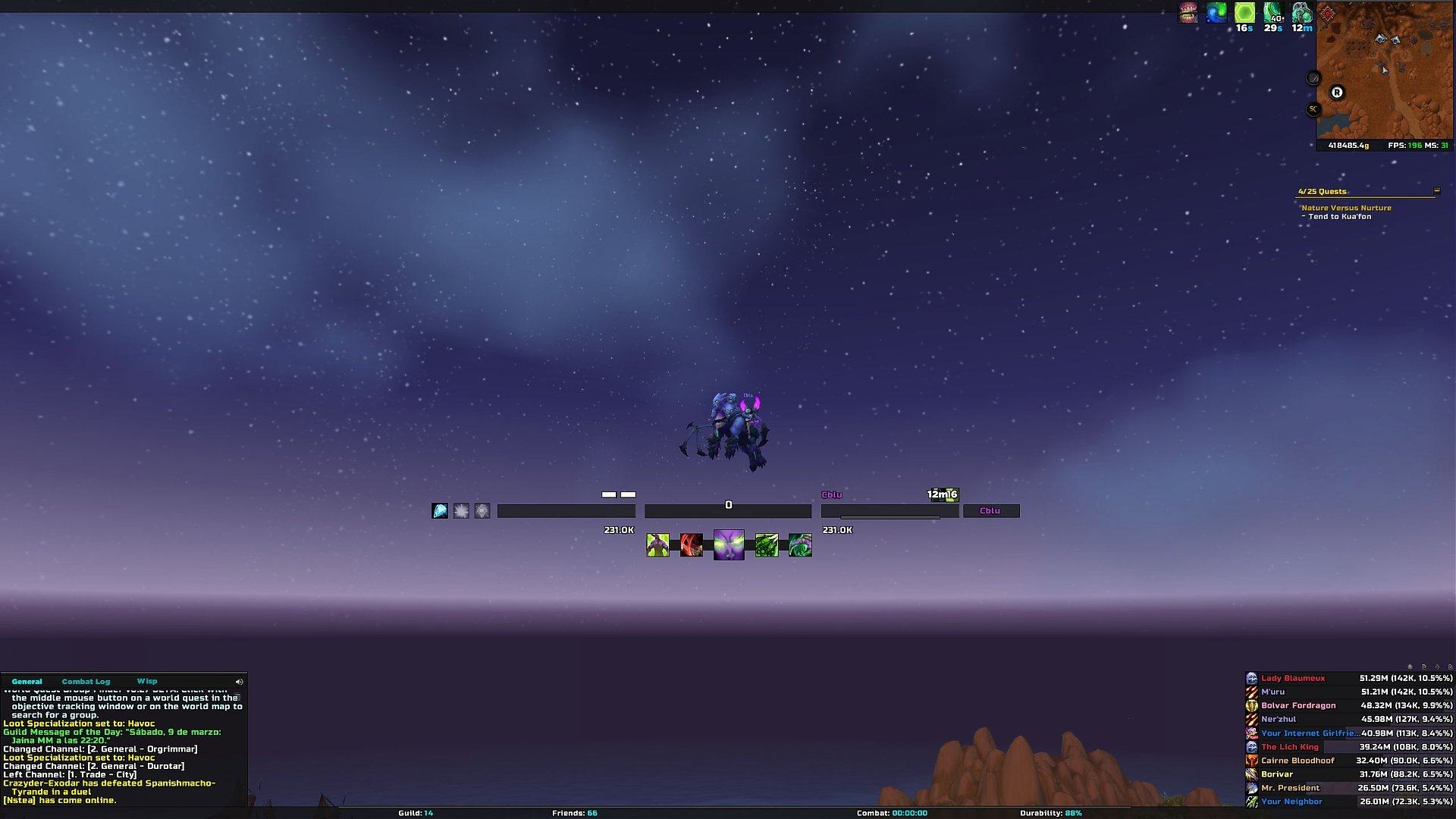Minimalistic Compilations : World of Warcraft AddOns